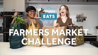 Sohla And Stellas Farmers Market Challenge