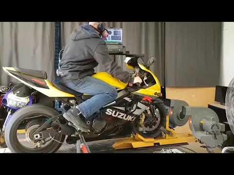 02 GSX-R 750 Dyno Pull - смотреть онлайн на Hah Life