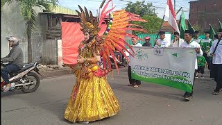 Karnaval HarLah NU Se-Kecamatan Sukodono 8 maret 2020-MI Roudhotul Mustashlihin