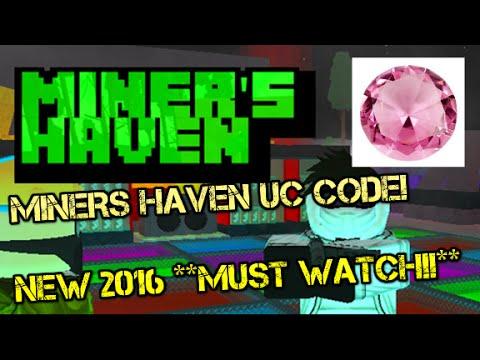 Miners Haven Roblox Secret Codes