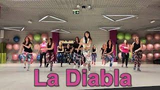 Alex Sensation, Nicky Jam   La Diabla   Zumba Choreo By Agata Soszyńska