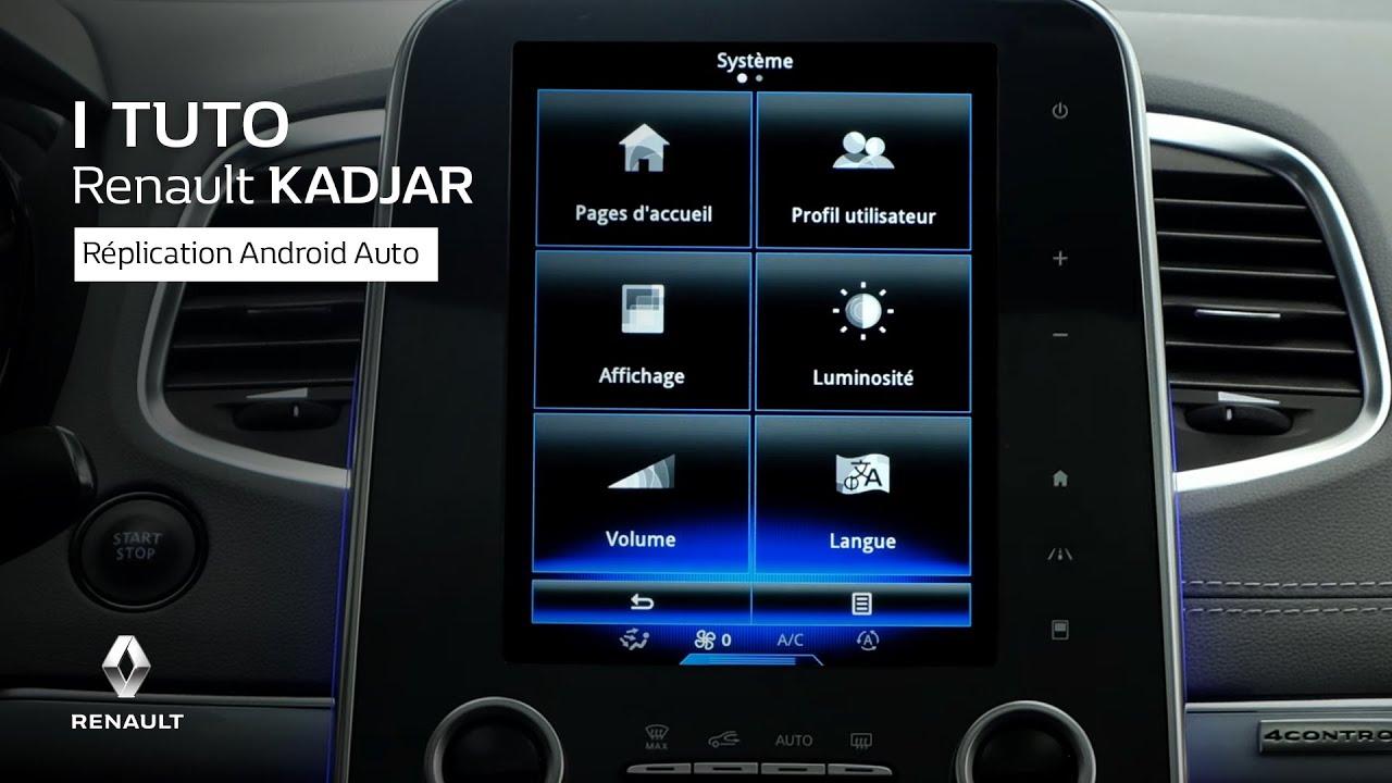 réplication android auto