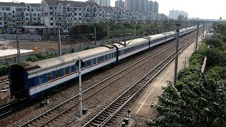 preview picture of video '2014/10/26 中国国鉄 特快 莘荘駅 / China Railway: Express at Xinzhuang'