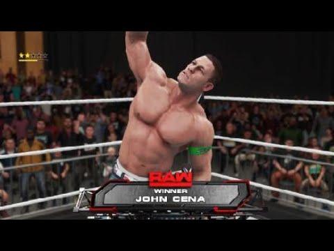 WWE 2K18 John Cena New Finisher Lightning Fist!!!!