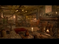 Fireplace Sounds - Medieval Tavern - Inn Ambience   1 hour
