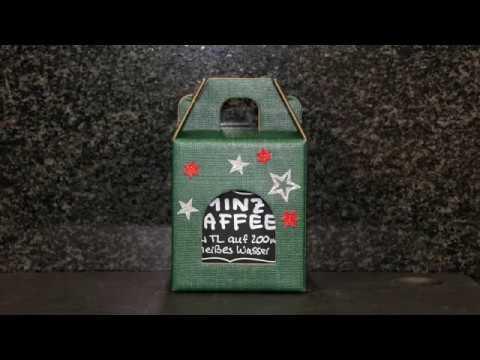 Minzkaffee aus Pfefferminzbonbons