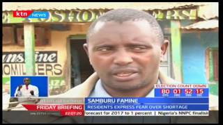 Samburu residents' fear of the imported maize not yet on transit to the County