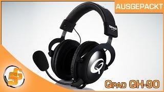 Ausgepackt - Qpad QH-90 - Gaming Headset [DE] SceneGamersDE