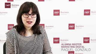 Opinión alumna Master Marketing Digital: Raquel Gonzalo