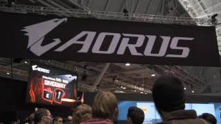 #AORUS - Booth Tour at PAX East 2017