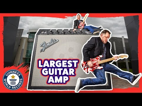 Rocking Out with the World's Largest Guitar Amp