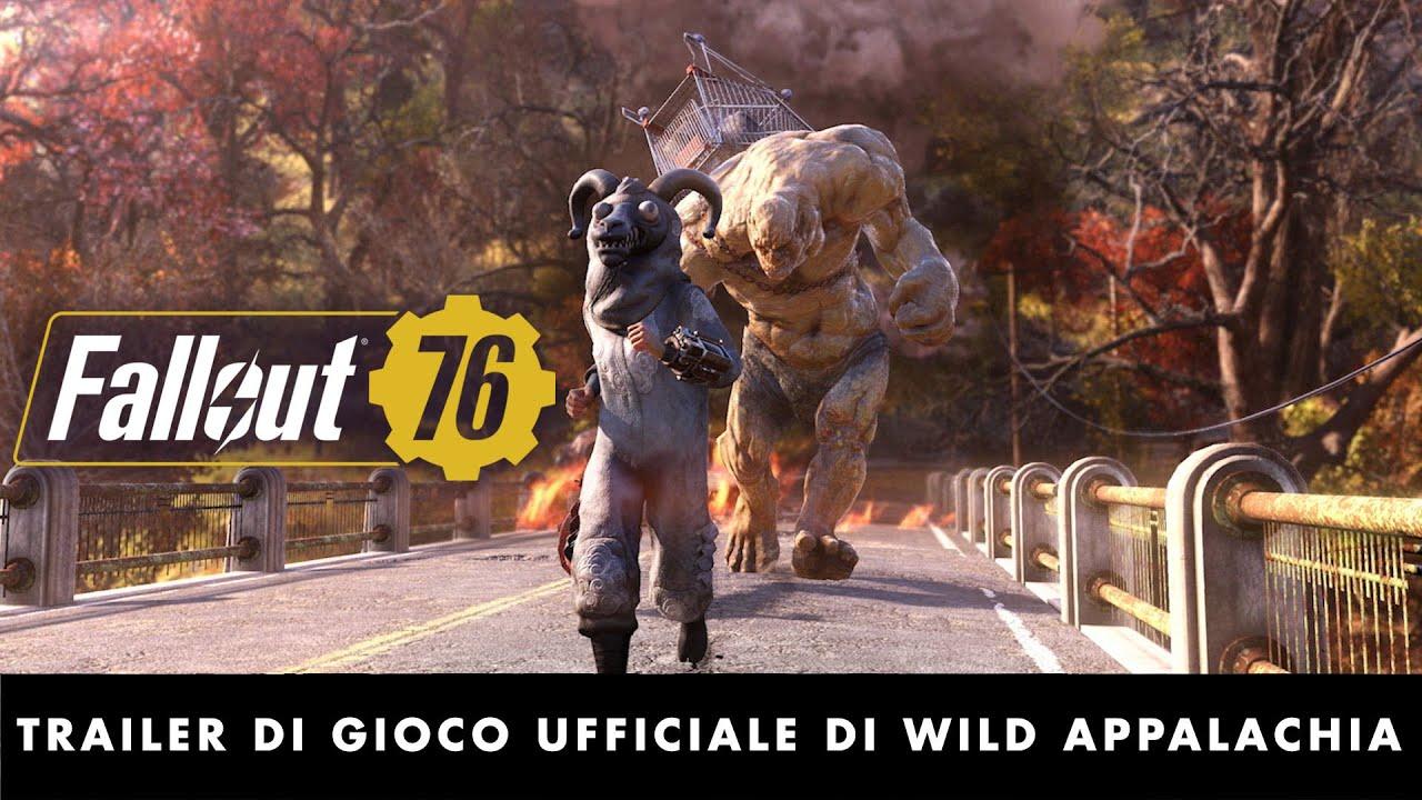 Wild Appalachia introduce nuove missioni e la modalita' sopravvivenza in Fallout 76