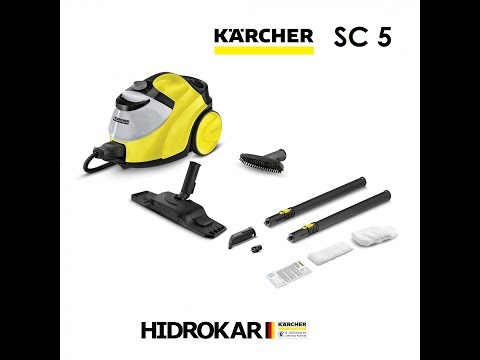 KARCHER SC5 VIDEO PUESTA EN MARCHA