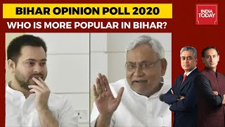 Opinion Poll On Bihar Elections | Nitish Kumar Vs Tejashwi Yadav: Who Is More Popular In Bihar?