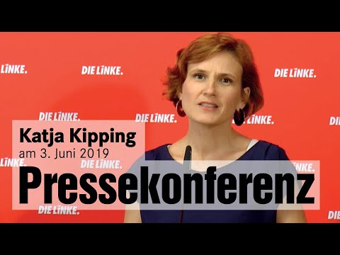Pressekonferenz mit Katja Kipping