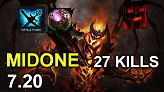 Midone 7.20 Shadow Fiend - Incredible Shadowraze with Kaya & Yasha