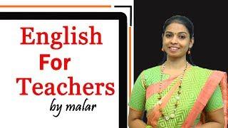 'Classroom English' # 60 by Malar - Learn Classroom English through Tamil