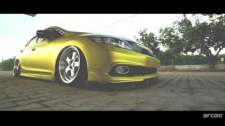 HONDA CIVIC FB7 | 18' SSR/// SP01 Wheels (4K)