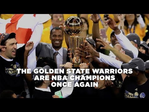 The Golden State Warriors are NBA Champions once again