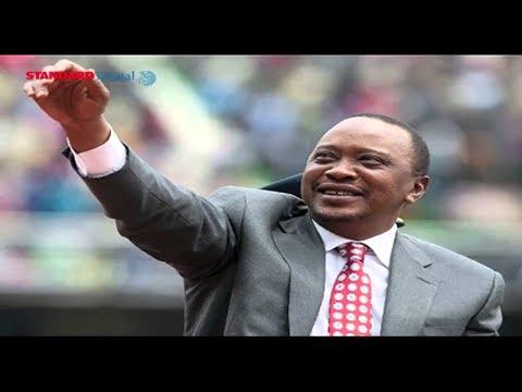 President Uhuru Kenyatta set to be sworn in as Kenya's fifth president of the republic of Kenya
