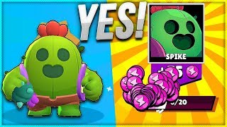 WARNING!! ⚠ FIRST TIME SPIKE USER in BRAWL STARS with Nickatnyte!