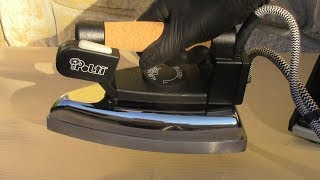 Come pulire il ferro da stiro ostruito dal calcare-Cleaning a clogged steam iron