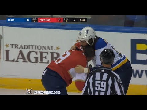 Micheal Haley vs. Chris Thorburn