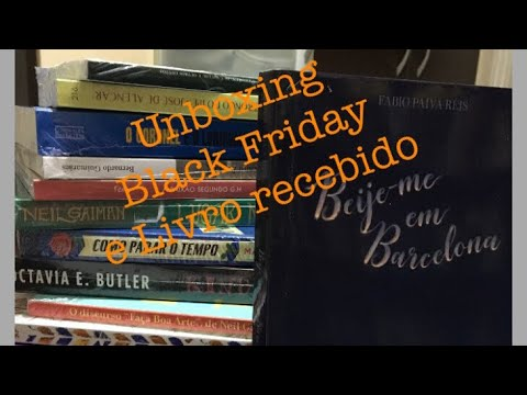 Unboxing : Livro de Fábio Paiva Reis e Black Friday Amazon