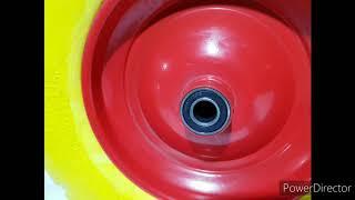 Колесо до тачки 3.50-8 під вісь 20мм ( пінополіуретан) от компании VIN-TIK - видео