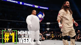 Hangman Page Reacts After Appearing As Marshmallow Man On AEW Dynamite