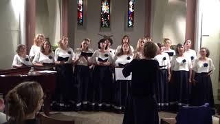 """Raszvela u okoshka / Cerisier en fleur – Ensemble vocal féminin """"Lyrica"""""""