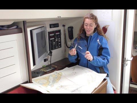 Tracciare e leggere una rotta nautica con le squadrette