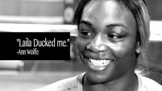 Claressa Shields Shares What Laila Ali Christy Martin And Ann Wolfe Told Her