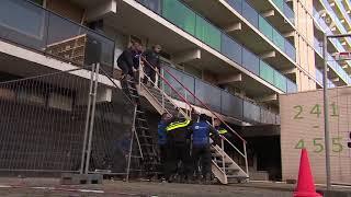 Burgemeester Ahmed Marcouch en Vivare-directeur Eric Angenent over Arnhemse flatbrand