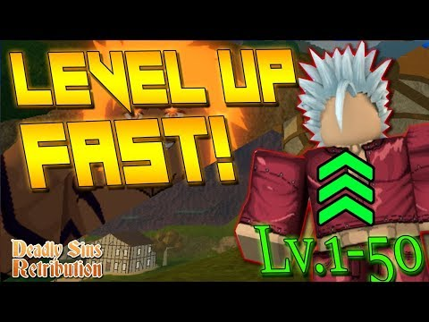 [NEW CODE!] HOW TO LEVEL UP FASTER IN | DEADLY SINS RETRIBUTION | LEVEL 1 - 50 GUIDE
