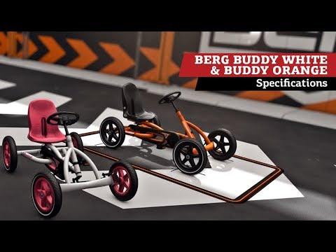 Image of BERG Buddy Orange and Buddy White