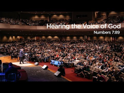 """Hearing the Voice Of God"" 