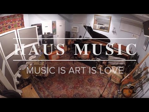 I'm a studio musician at HAUS Music Studio in Studio City, CA