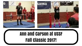 Ann and Carson Rock the USSF Fall Classic!