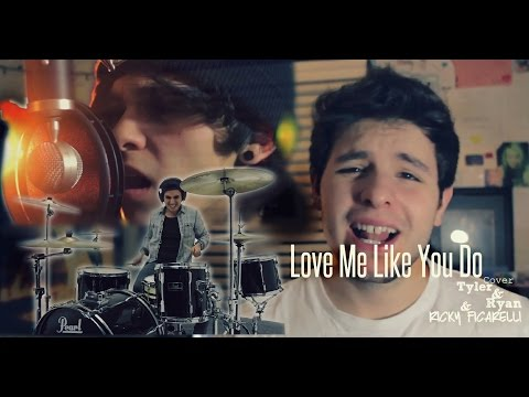 This song is owned by Interscope, this is our cover of it. Thanks so much to our boy Ricky Ficarelli! Check his music out here! https://www.youtube.com/user/RickyFicarelli                                                                    This is our cover of Love Me Like You Do Originally done by Ellie Goulding. Video was Directed and Produced by Mitch Francis. (www.youtube.com/Ditchell24) www.twitter.com/Ditchell24  JOIN OUR FAMILY ON SOCIAL MEDIA…We'd love to talk to you :)  TYLER'S LINKS: www.Twitter.com/Tylerfalcoa www.Instagram.com/TylerFalcoa  RYAN'S LINKS: www.Twitter.com/Ryan_Falcoa www.Instagram.com/RyanFalcoa  BAND'S LINKS https://www.facebook.com/TylerandRyan... Band Twitter: twitter.com/dirtytar  Management/Booking Contact: Ray Falcoa rfalcoa@cox.net  IF YOU WANT TO SEND US FAN MAIL:  Tyler & Ryan Fan Club P.O. Box 963 Bristol RI 02809 USA