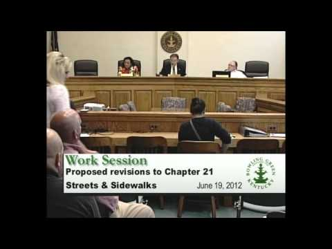 6/19/12 Board of Commissioners Work Session