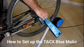 Tacx Blue Matic bike trainer   How to setup and review