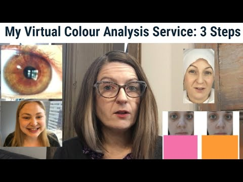 My Virtual Colour Analysis Service - The 3 Steps and Why I Do Each ...
