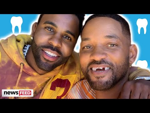 Jason Derulo KNOCKS OUT Will Smith's Teeth In Freak Accident!