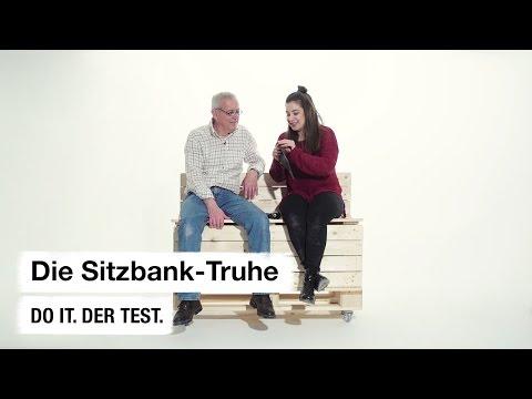 Do it + Garden: Die Sitzbank-Truhe. Der Test.