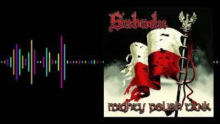 Kadr z teledysku Mighty Polish Tank tekst piosenki Sabadu