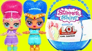 LOL Surprise Dolls Big Ball Shimmer and Shine + Custom Punk Boi Summer Series Part