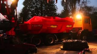 Nocna Jazda Samochodem Bez Celu Krosno - pokazy strażackie