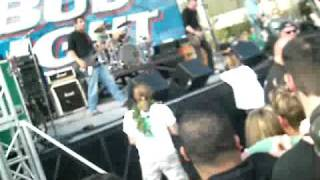 Toadies Plane crash & Back Slider St. Patties 2006 live pit