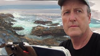 ABSTRACTION VS. REALISM—Thoughts While Painting the Maine Coast